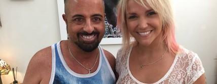 Jenny Scordamaglia nos visita en nuestra peluquería