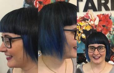 Pales colours hair