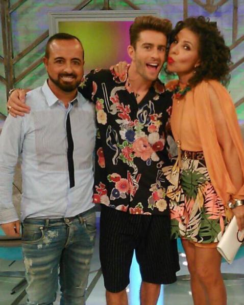 Ángel Ostáriz y Jenny Llada en Cámbiame