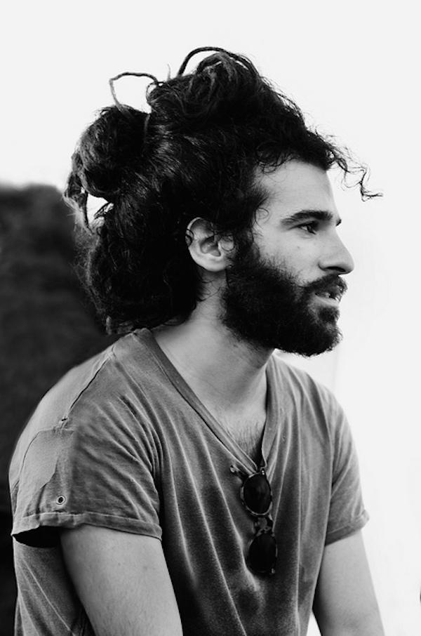 Corte de pelo largo hipster