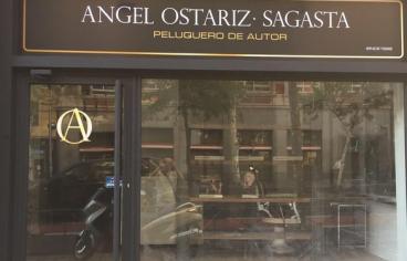 Ángel Ostáriz nuevo local